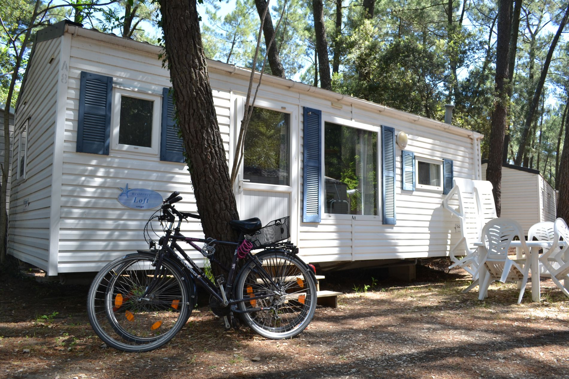 Mobile home Frankreich Languedoc Mobilhaus